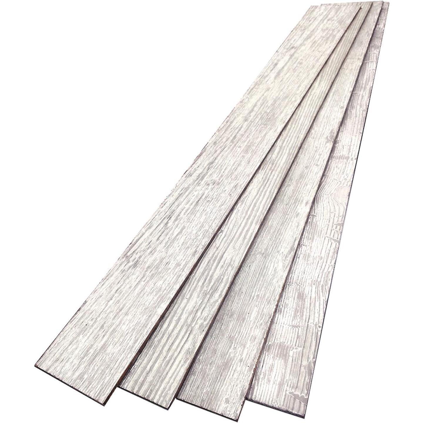 DPI 6 In. W. x 48 In. L. x 1/4 In. Thick Cottonwood Rustic Wall Plank (12-Pack) Image 2