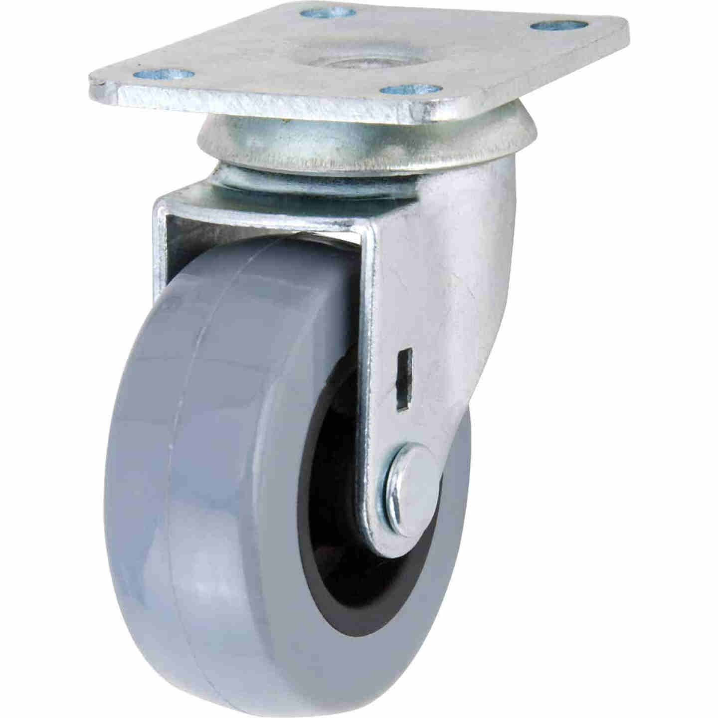 Shepherd 2 In. Thermoplastic Swivel Plate Caster Image 1