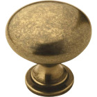 Amerock Allison Edona Burnished Brass 1-1/4 In. Cabinet Knob Image 1
