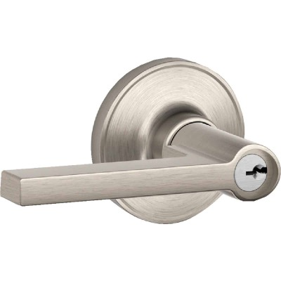 Dexter Solstice Satin Nickel Entry Door Lever Lockset