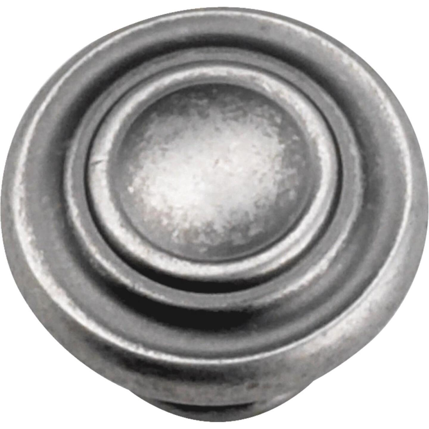 Laurey Windsor Antique Pewter 1-3/8 In. Cabinet Knob Image 1