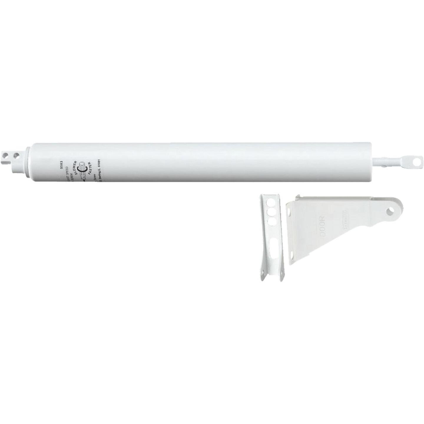 National White Storm or Screen Door Closer Image 1