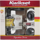 Kwikset Signature Series Venetian Bronze Deadbolt and Lever Combo with Smartkey Image 4