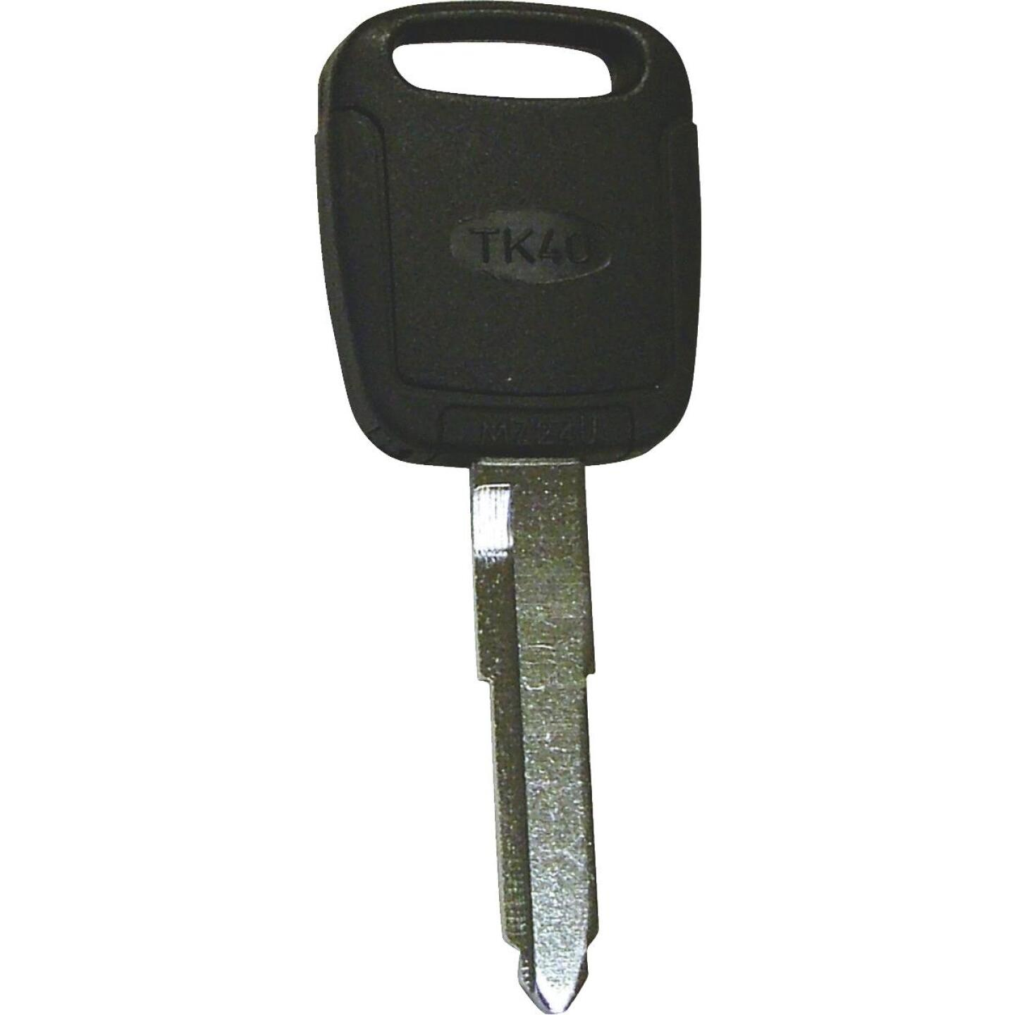 Hy-Ko Mazda Nickel Plated Programmable Chip Key Image 1