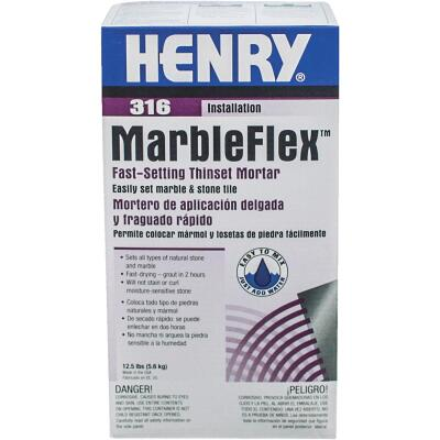 Henry Marbleflex 12-1/2 Lb White Mortar Mix