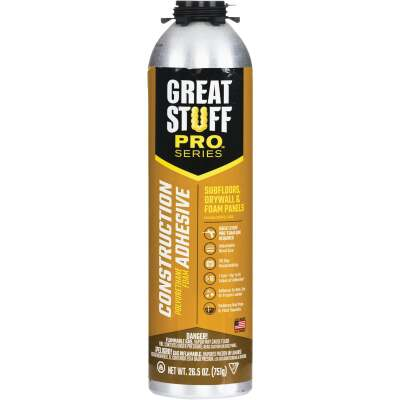GREAT STUFF PRO 26.5 Oz. Construction Adhesive