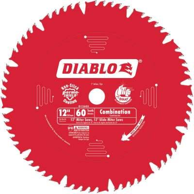 Diablo 12 In. 60-Tooth Combination Circular Saw Blade