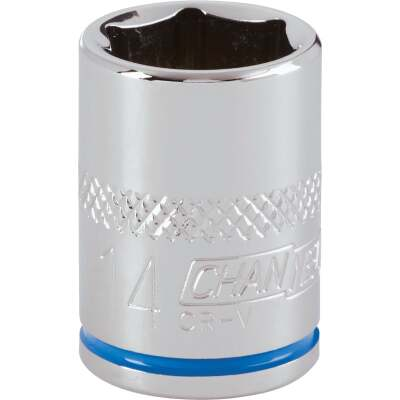 Channellock 3/8 In. Drive 14 mm 6-Point Shallow Metric Socket