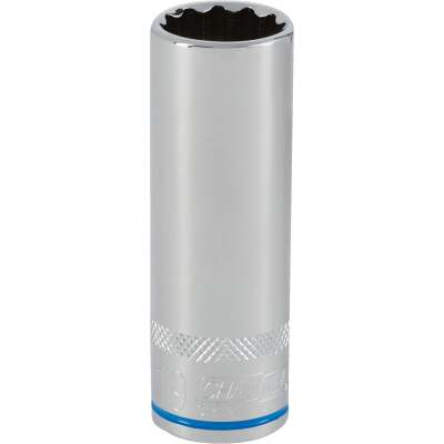 Channellock 1/2 In. Drive 19 mm 12-Point Deep Metric Socket