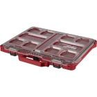 Milwaukee PACKOUT 16.50 In. W x 2.50 In. H x 19.75 In. L Lo Profile Small Parts Organizer with 10 Bins Image 1