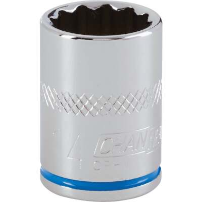 Channellock 3/8 In. Drive 14 mm 12-Point Shallow Metric Socket