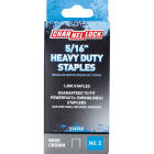 Channellock No. 5 Heavy-Duty Wide Crown Staple, 5/16 In. (1000-Pack) Image 1