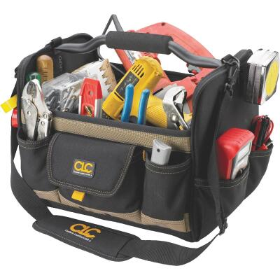 CLC 21-Pocket 14 In. Tool Tote