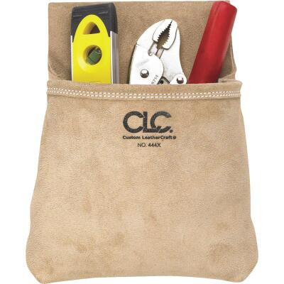 CLC Single Pocket Suede Leather Nail & Tool Bag