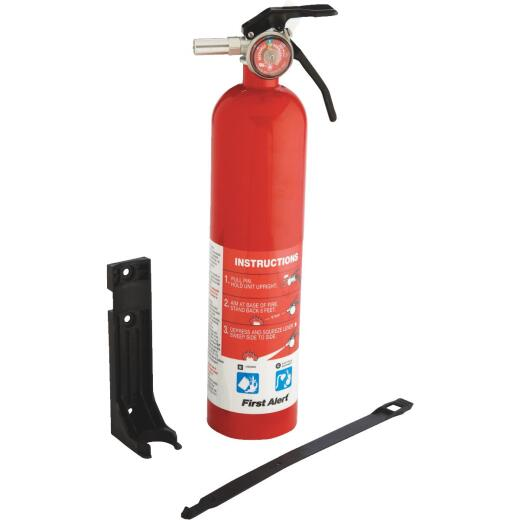 First Alert 10-B:C Rechargeable Garage Fire Extinguisher