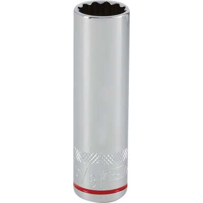 Channellock 1/2 In. Drive 5/8 In. 12-Point Deep Standard Socket