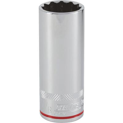 Channellock 1/2 In. Drive 7/8 In. 12-Point Deep Standard Socket