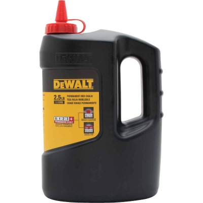 DeWalt 5 Lb. Red Chalk Line Chalk