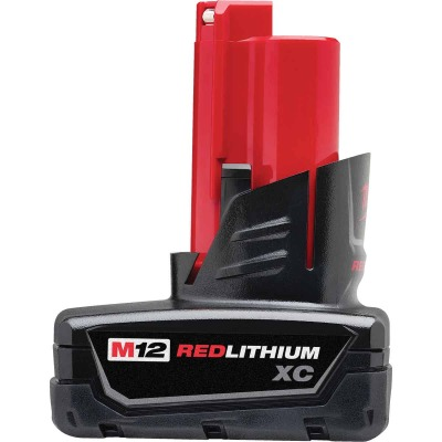 Milwaukee M12 REDLITHIUM XC 12 Volt Lithium-Ion 3.0 Ah Extended Capacity Tool Battery