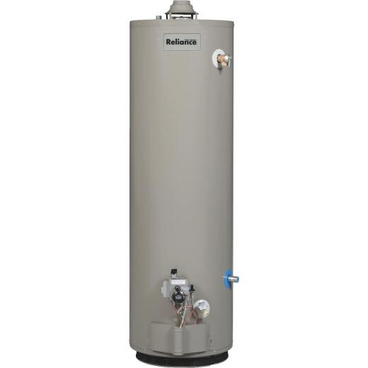 Reliance 40 Gal. 6yr Natural Gas/Liquid Propane Water Heater for Mobile Home