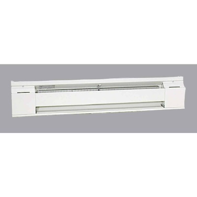 Fahrenheat 36 In. 750-Watt 240-Volt Electric Baseboard Heater, Northern White