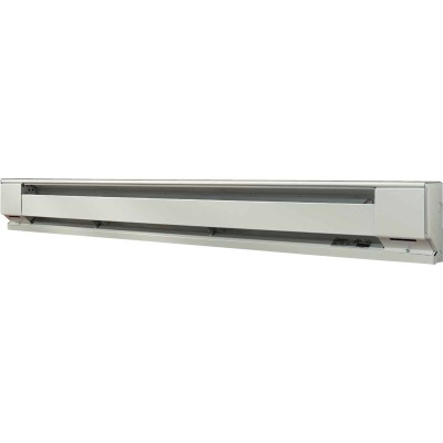 Fahrenheat 96 In. 2000-Watt 240-Volt Electric Baseboard Heater, Northern White
