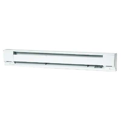 Fahrenheat 48 In. 1000-Watt 120-Volt Electric Baseboard Heater, Northern White