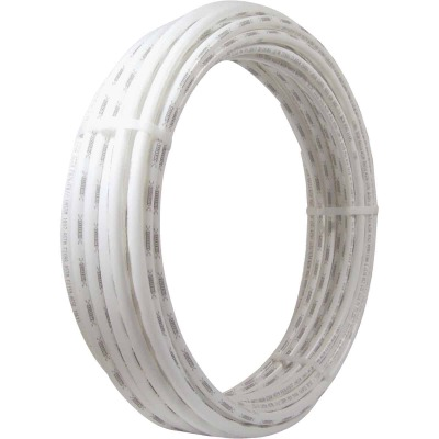 SharkBite 3/8 In. x 100 Ft. White PEX Pipe Type B Coil
