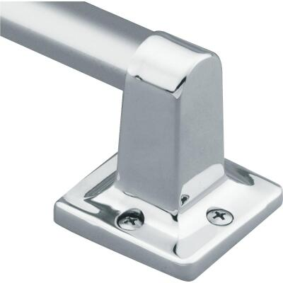 Moen Home Care 24 In. x 7/8 In. Exposed Screw Grab Bar, Chrome