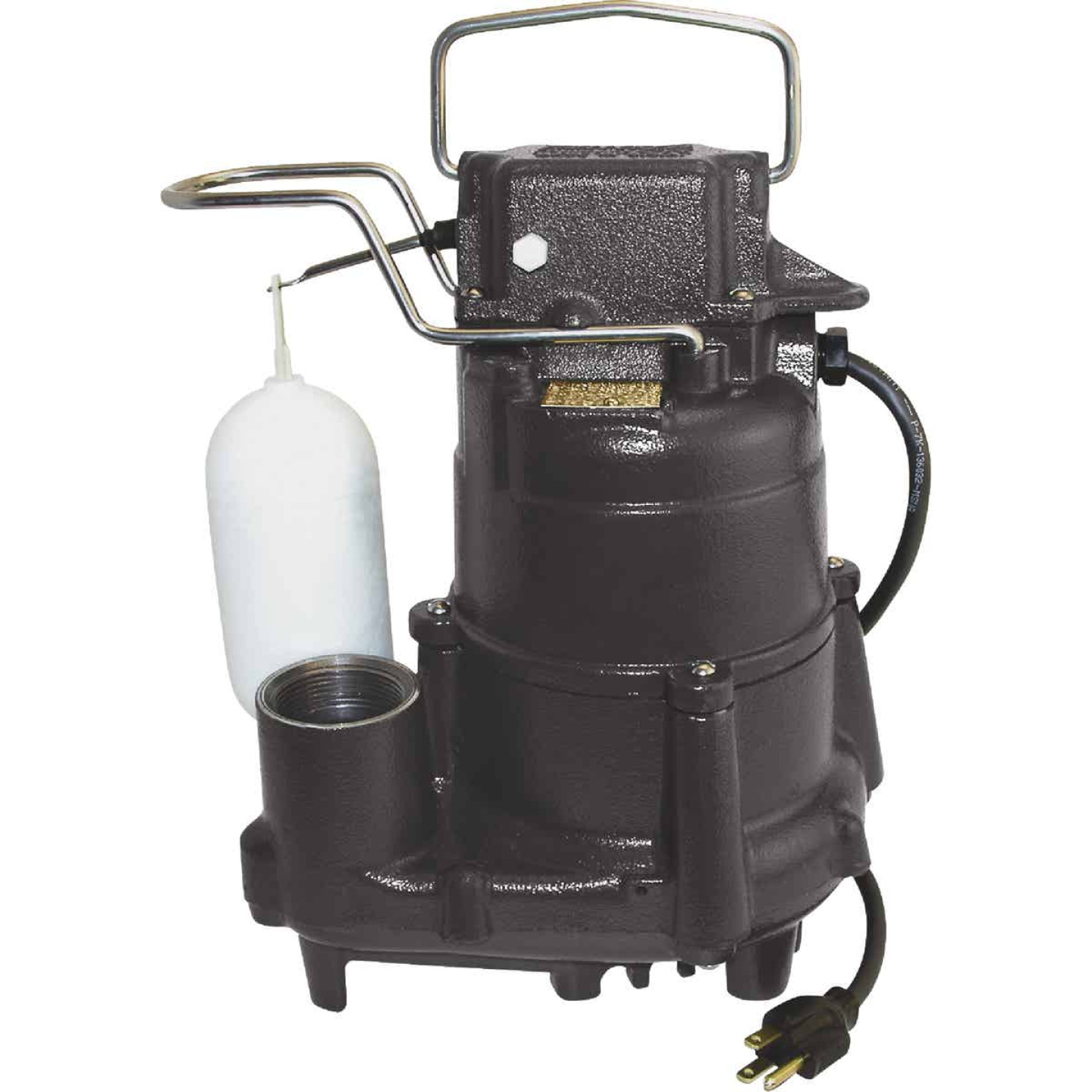 Do it Best 1/2 HP 115V Cast-Iron Submersible Sump Pump Image 1