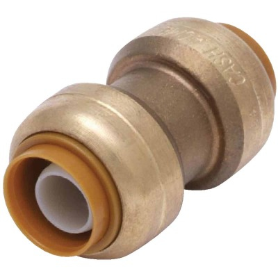 SharkBite 3/4 In. Push-to-Connect Straight Brass Coupling