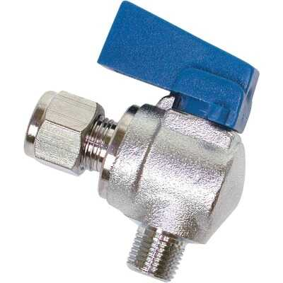 Dial 1/4 In. C X 1/8 In. MPT Ball Angle Valve