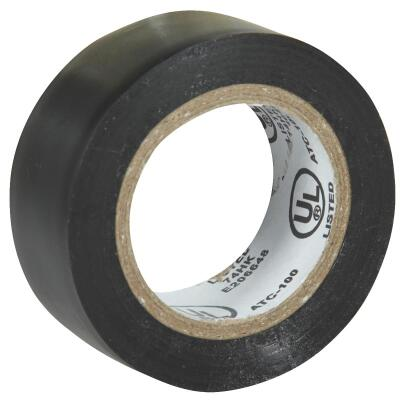 Do it General Purpose 3/4 In. x 20 Ft. Black Electrical Tape