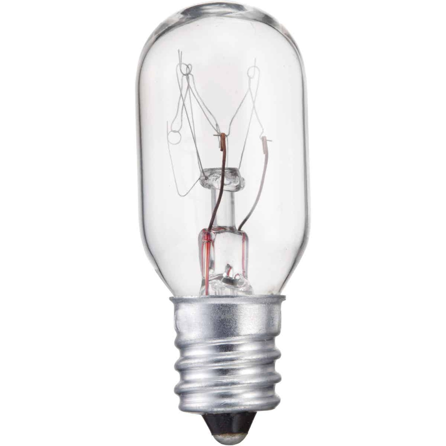 Philips 15W Clear Candelabra T6 Incandescent Exit Sign Light Bulb Image 1
