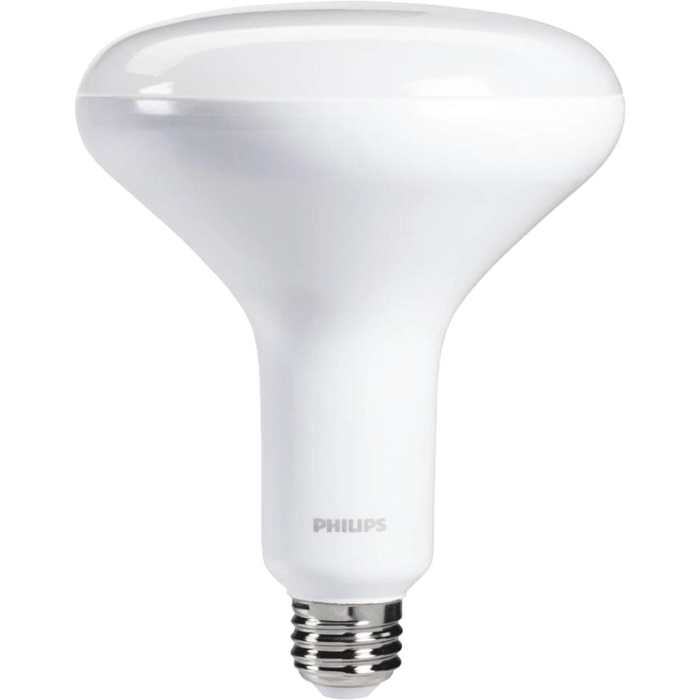 Philips 65W Equivalent Daylight BR40 Medium Dimmable LED Floodlight Light Bulb Image 1