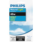 Philips Natural Light 40W Frosted Medium A15 Incandescent Ceiling Fan Light Bulb Image 2