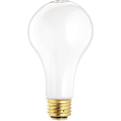 Satco 30/70/100W Soft White 3-Way Medium Base A21 Incandescent Light Bulb