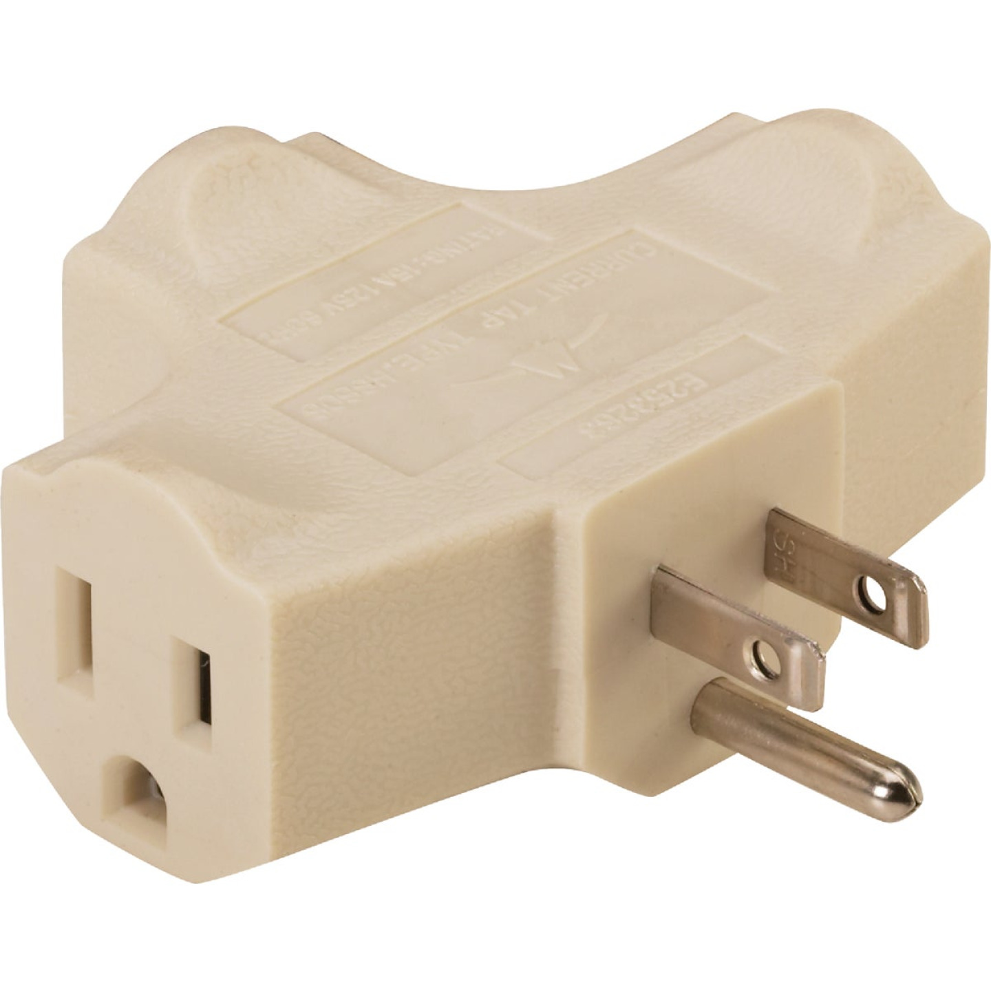 Do it Beige 15A 3-Outlet Tap Image 1