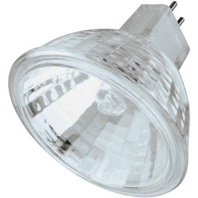 Philips 50W Equivalent Clear GU5.3 Base MR16 Halogen Spotlight Light Bulb