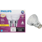 Philips 50W Equivalent Bright White PAR20 Medium Dimmable LED Floodight Light Bulb (2-Pack) Image 1