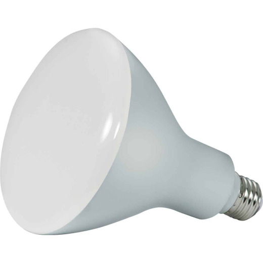 Satco Ditto 85W Equivalent Warm White BR40 Medium Dimmable LED Floodlight Light Bulb