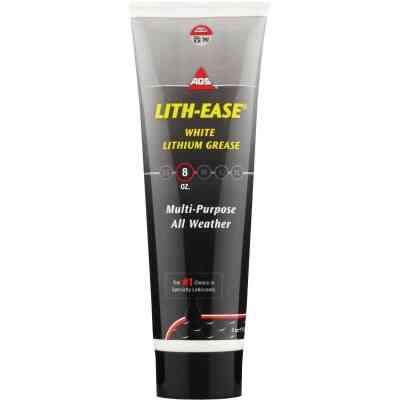 AGS Lith-Ease 8 Oz. Tube White Lithium Grease