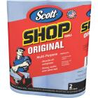 Scott 11 In. W x 10.4 In. L Disposable Original Shop Towel, (2-Roll/110-Sheets) Image 1