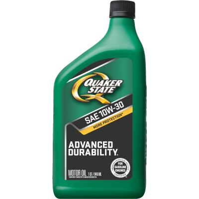 Quaker State Advanced Durability 10W30 Quart Motor Oil