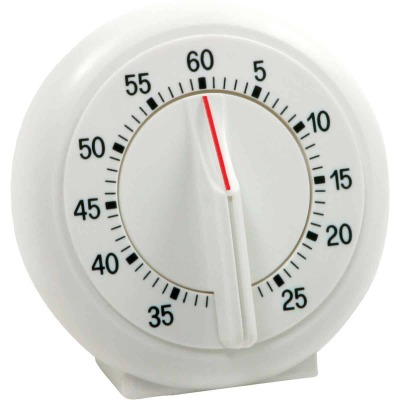 Norpro 60-Minute White Ring Timer