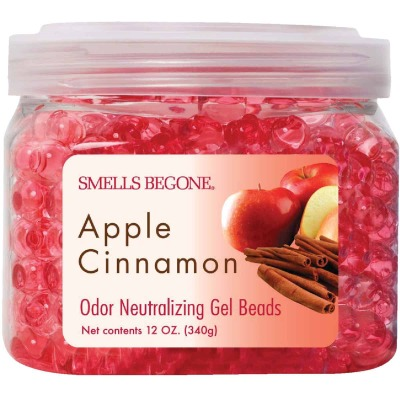 Smells Begone 12 Oz. Gel Beads Apple Cinnamon Odor Neutralizer