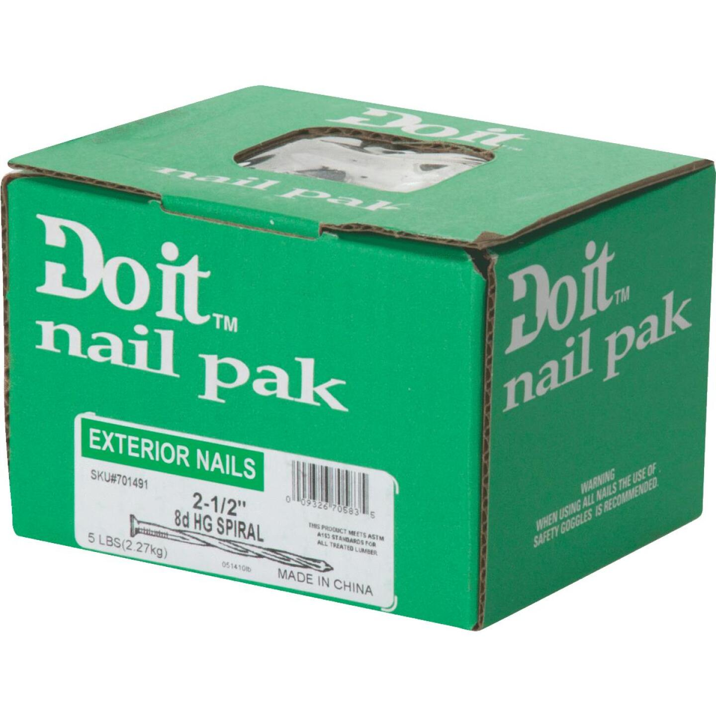 Do it 8d x 2-1/2 In. 11 ga Hot Galvanized Deck Nails (530 Ct., 5 Lb.) Image 2