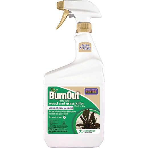 Bonide BurnOut 1 Qt. Ready To Use Trigger Spray Organic Weed & Grass Killer