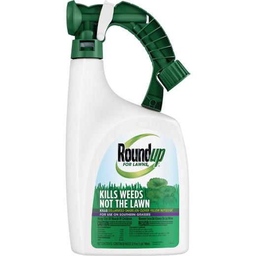 Roundup For Lawns 32 Oz. Ready To Spray Southern Formula Weed Killer