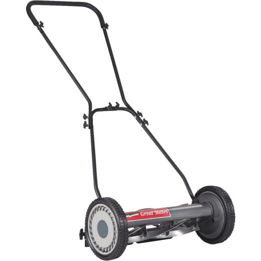 Great States 18 In. Push Reel Lawn Mower